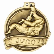 Halo Judo Personalised Medal 2 1 8 Inch (55mm) Diameter : New 2019