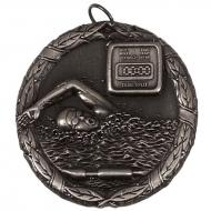 Laurel50 Swimming Medal Silver 50mm
