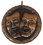 Laurel50 Drama Medal Bronze 50mm