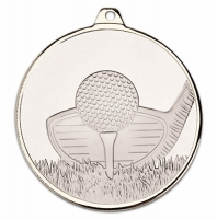Frosted Glacier Golf Club Medal