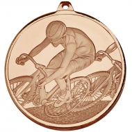 Frosted Glacier Cycling Medal