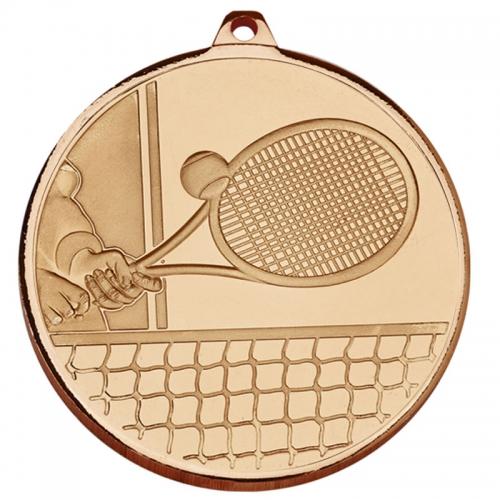 Frosted Glacier Tennis Medal