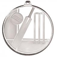 Frosted Glacier Cricket Medal