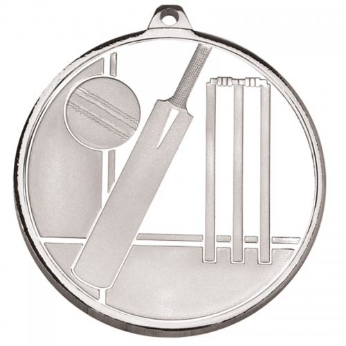 Frosted Glacier Cricket Medal