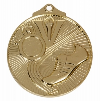 Horizon52 Soccer Medal Gold 52mm