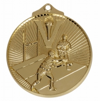 Horizon52 Rugby Medal Gold 52mm