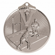 Horizon52 Rugby Medal Silver 52mm
