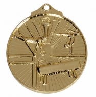 Horizon52 Gymnastics Medal Gold 52mm