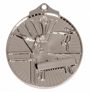 Horizon52 Gymnastics Medal Silver 52mm