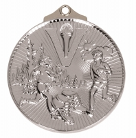 Horizon52 Cross Country Medal Silver 52mm