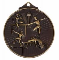Horizon52 Track & Field Medal Bronze 52mm