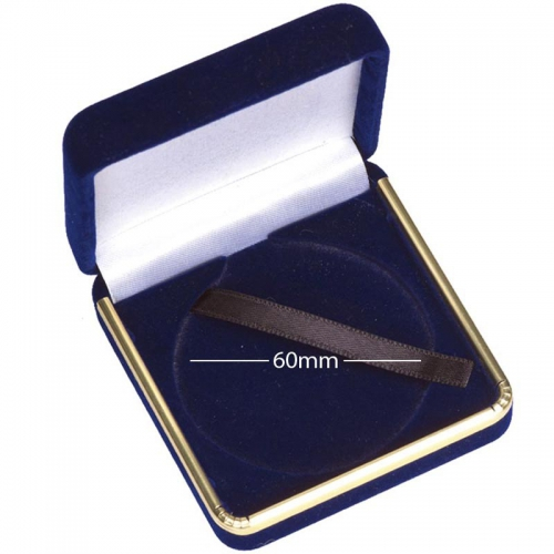 Luxury60 Medal Case Blue 60mm