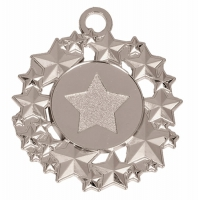 Galaxy50 Medal Silver 50mm