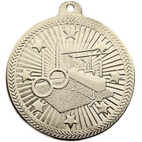 VF50 Gymnastics Medal Silver 50mm