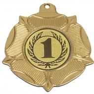 VF50 Tudor Rose Medal Gold 50mm