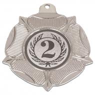 VF50 Tudor Rose Medal Silver 50mm