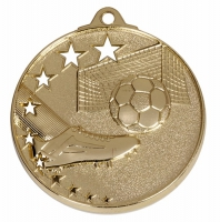 San Francisco50 Football Medal Gold 52mm