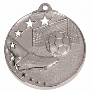 San Francisco50 Football Medal Silver 52mm