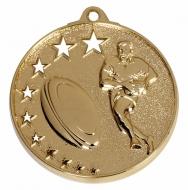 San Francisco50 Rugby Medal Gold 52mm