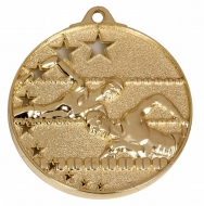 San Francisco50 Swimming Medal Gold 52mm