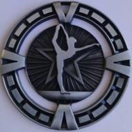 Varsity Sports Medal Award Gymnastics 2 3/8 Inch (60mm) Diameter : New 2020