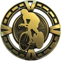 Varsity Sports Medal Award Cycling 2 3/8 Inch (60mm) Diameter : New 2020