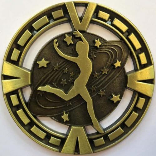 Varsity Medal Dance Trophy Award 2 3/8 Inch (6cm) Diameter : New 2020