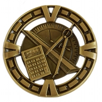 Varsity Medal Award Maths 2 3/8 Inch (6cm) Diameter : New 2020