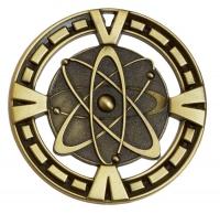 Varsity Medal Award Science 2 3/8 Inch (6cm) Diameter : New 2020