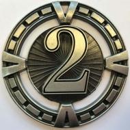Varsity Medal Award 2nd Place 2 3/8 Inch (6cm) Diameter : New 2020