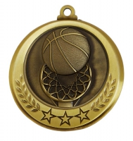 Spectrum Basketball Medal Award 2.75 Inch (70mm) Diameter : New 2020