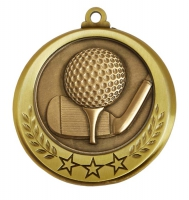 Spectrum Golf Medal Award 2.75 Inch (70mm) Diameter : New 2020