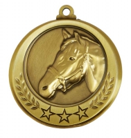 Spectrum Horse Medal Award 2.75 Inch (70mm) Diameter : New 2020