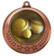 Spectrum Lawn Bowls Medal Award 2.75 Inch (70mm) Diameter : New 2020