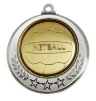Spectrum Netball Medal Award 2.75 Inch (70mm) Diameter : New 2020