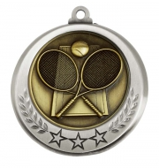Spectrum Tennis Medal Award 2.75 Inch (70mm) Diameter : New 2020