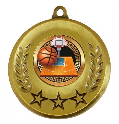 Spectrum Basketball Medal Award 2 Inch (50mm) Diameter : New 2020
