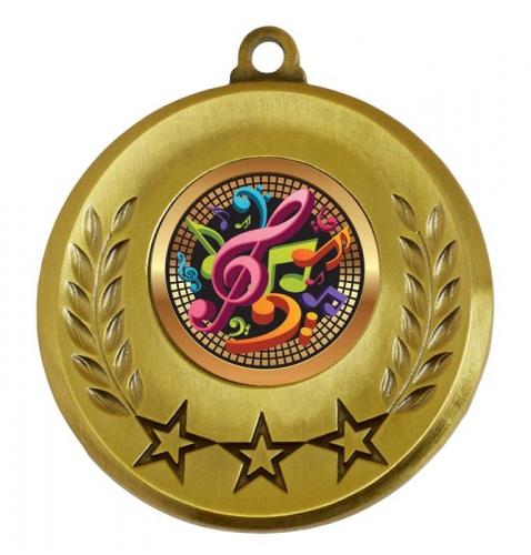 Spectrum Music Medal Award 2 Inch (50mm) Diameter : New 2020