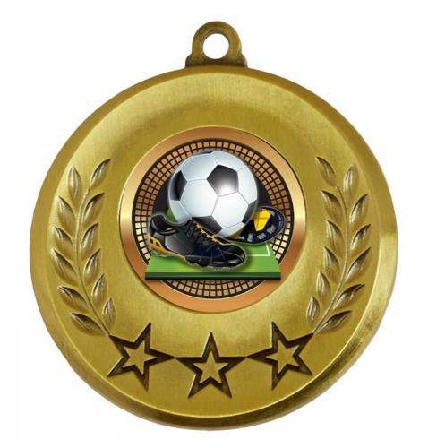 Spectrum Football Medal Award 2 Inch (50mm) Diameter : New 2020