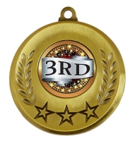 Spectrum 3rd Place Medal Award 2 Inch (50mm) Diameter : New 2020