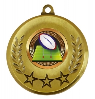Spectrum Rugby Medal Award 2 Inch (50mm) Diameter : New 2020