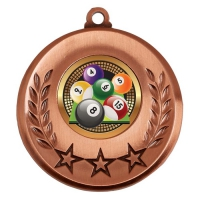 Spectrum Pool Medal Award 2 Inch (50mm) Diameter : New 2020