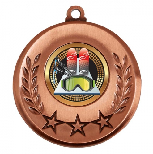 Spectrum Skiing Medal Award 2 Inch (50mm) Diameter : New 2020