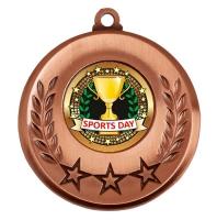 Spectrum Sports Day Medal Award 2 Inch (50mm) Diameter : New 2020