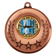 Spectrum Well Done Medal Award 2 Inch (50mm) Diameter : New 2020