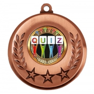 Spectrum Quiz Medal Award 2 Inch (50mm) Diameter : New 2020