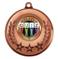 Spectrum Quiz Medal Award 2 Inch (50mm) Diameter : New 2020