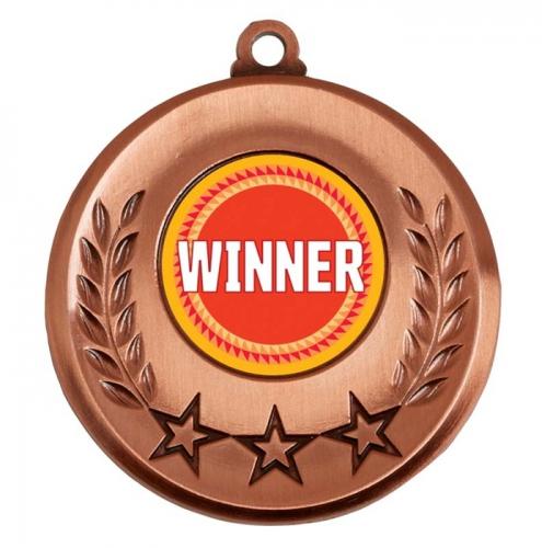 Spectrum Winner Medal Award 2 Inch (50mm) Diameter : New 2020