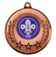 Spectrum Scouts Medal Award 2 Inch (50mm) Diameter : New 2020