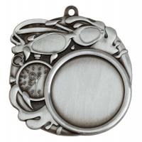 Sports Logo Medal Award Swimming 2.75 Inch (70mm) Diameter : New 2020
